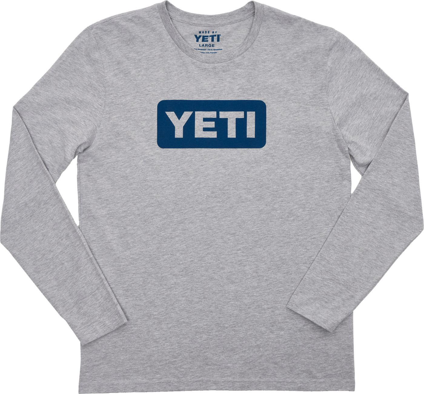 YETI Men's Logo Badge Long Sleeve Shirt