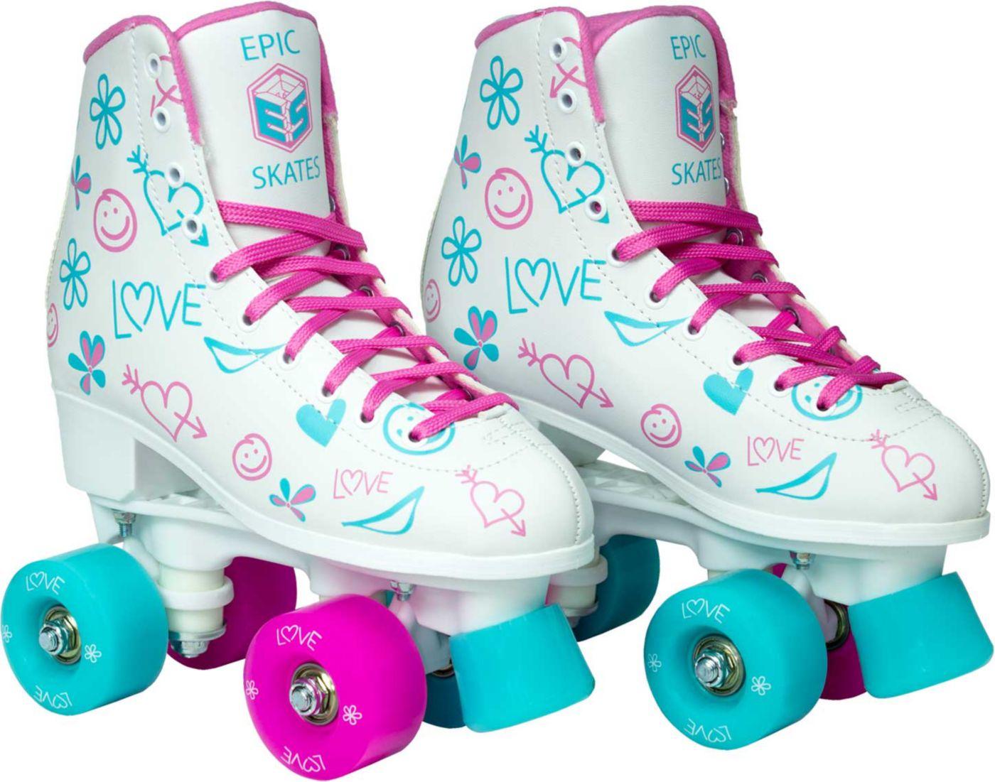 Epic Frost Quad Roller Skates