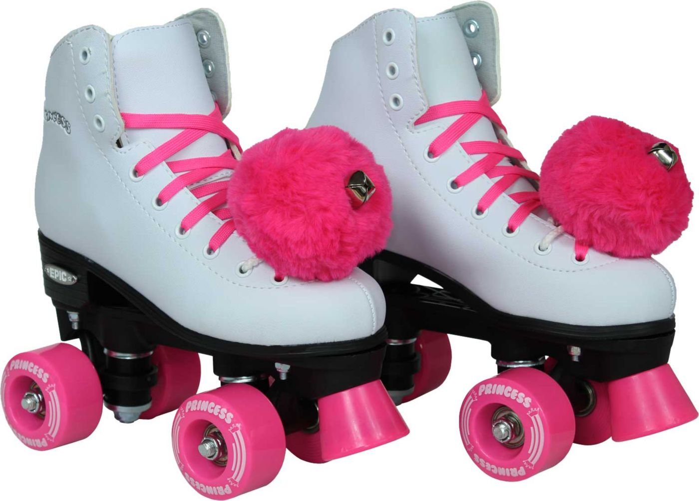 Epic Girls' Princess Quad Roller Skates