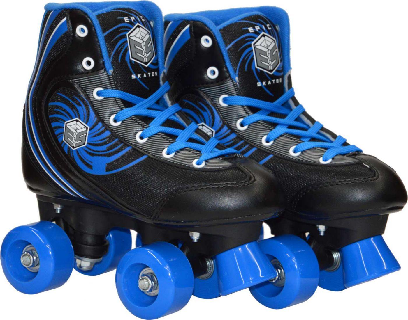 Epic Boys' Rock Candy Quad Roller Skates