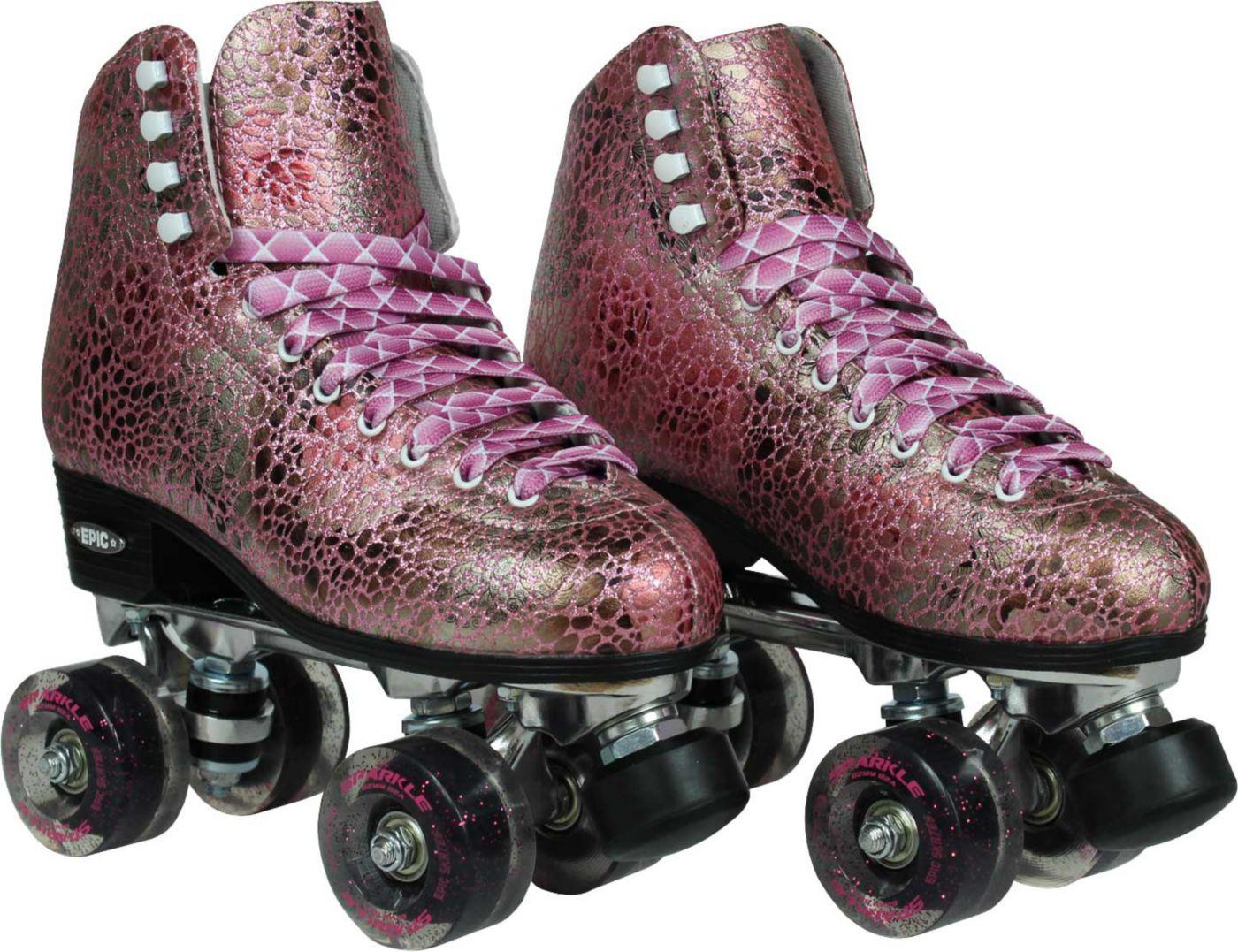 Epic Women's Sparkle Quad Roller Skates