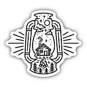 Stickers Northwest Lantern Sticker