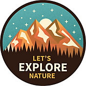 Stickers Northwest Let's Explore Nature Sticker
