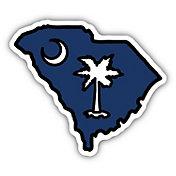 Stickers Northwest South Carolina State Flag Sticker