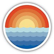 Stickers Northwest Sunrise Waves Sticker