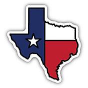 Stickers Northwest Texas State Flag Sticker