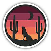 Stickers Northwest Wolf Sunset Sticker