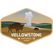 Stickers Northwest Yellowstone National Park Sticker