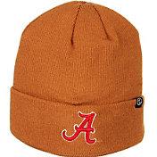 Zephyr Men's Alabama Crimson Tide Brown Cuffed Knit Beanie