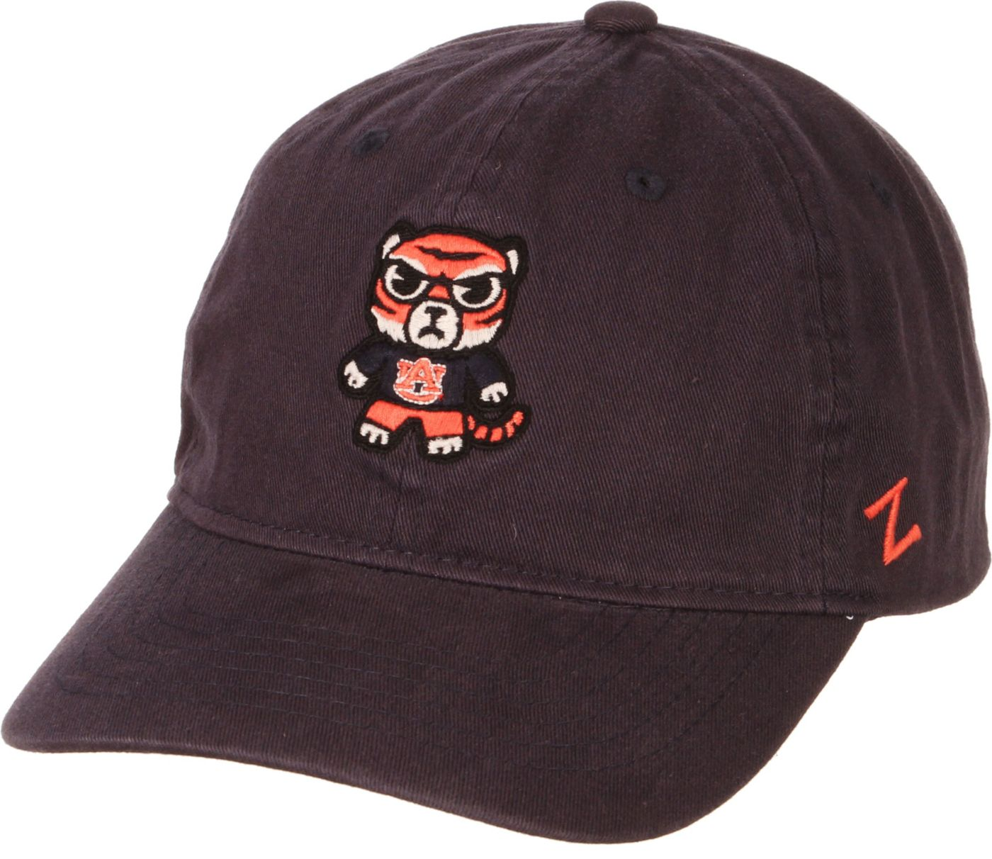 Zephyr Men's Auburn Tigers Blue Tokoyodachi Emoji Hat
