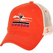 Zephyr Men's Clemson Tigers Orange/White Adjustable Trucker Hat