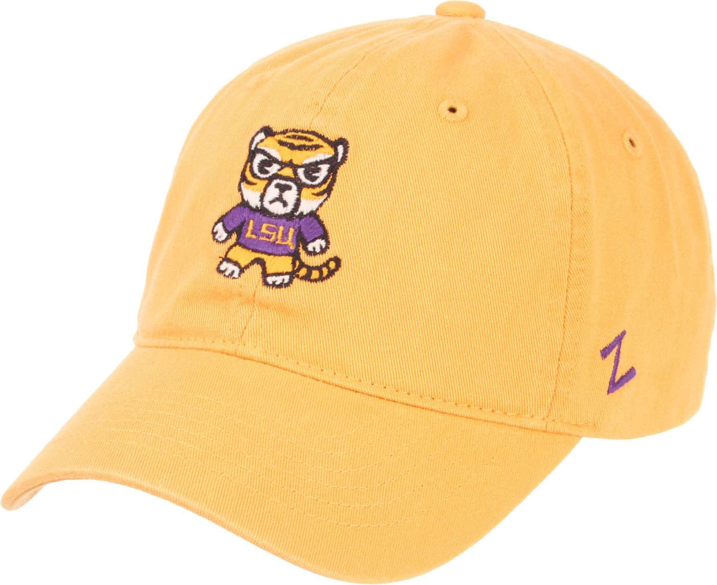 Zephyr Men's LSU Tigers Gold Tokoyodachi Emoji Hat