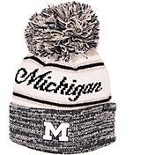 Zephyr Men's Michigan Wolverines Blue Diana Pom Knit Beanie