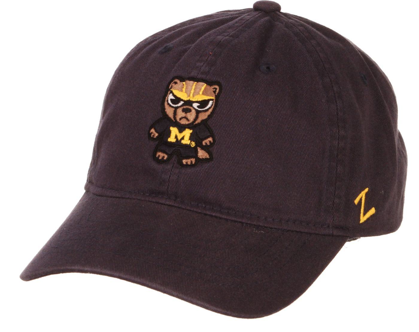 Zephyr Men's Michigan Wolverines Blue Tokoyodachi Emoji Hat