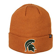 Zephyr Men's Michigan State Spartans Brown Cuffed Knit Beanie