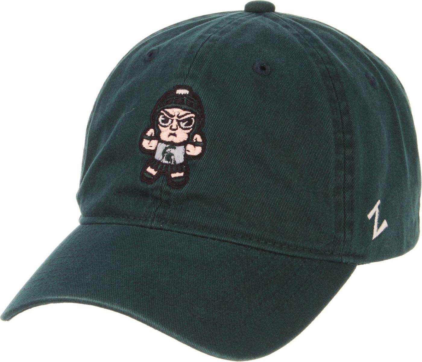 Zephyr Men's Michigan State Spartans Green Tokoyodachi Emoji Hat