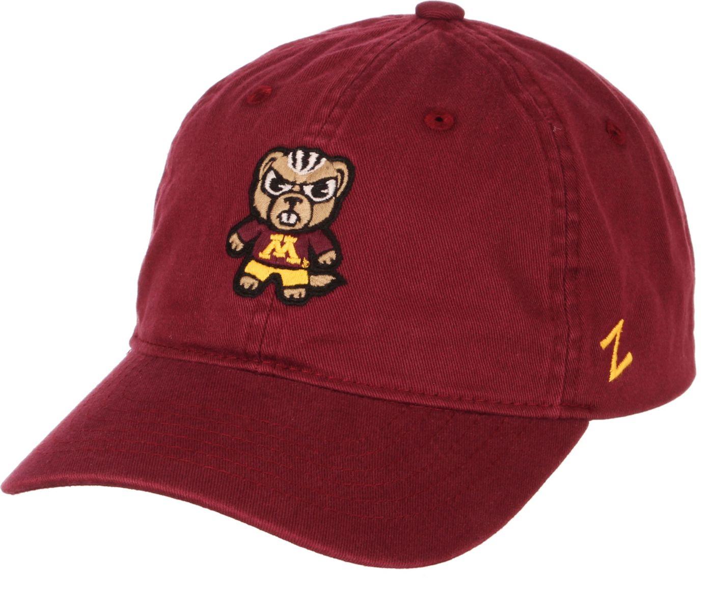 Zephyr Men's Minnesota Golden Gophers Maroon Tokoyodachi Emoji Hat
