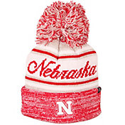 Zephyr Men's Nebraska Cornhuskers Scarlet Diana Pom Knit Beanie