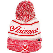 Zephyr Men's Arizona Wildcats Red Diana Pom Knit Beanie