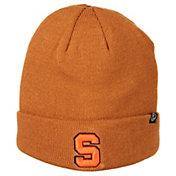 Zephyr Men's Syracuse Orange Brown Cuffed Knit Beanie