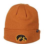 Zephyr Men's Iowa Hawkeyes Brown Cuffed Knit Beanie