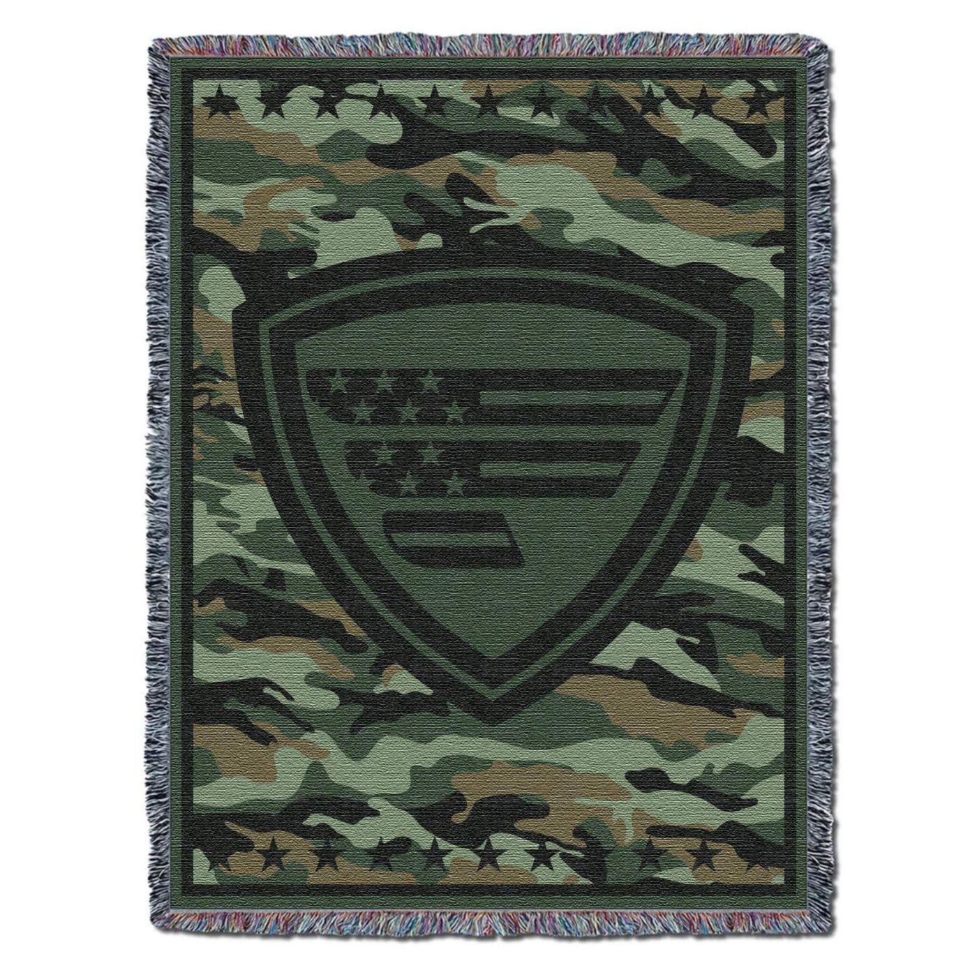 Favorite Fishing Jungle Defender Blanket