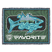 Favorite Fishing Simmer Bass Blanket