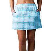 "SanSoleil Women's Print Pull-On 18"" Golf Skort"