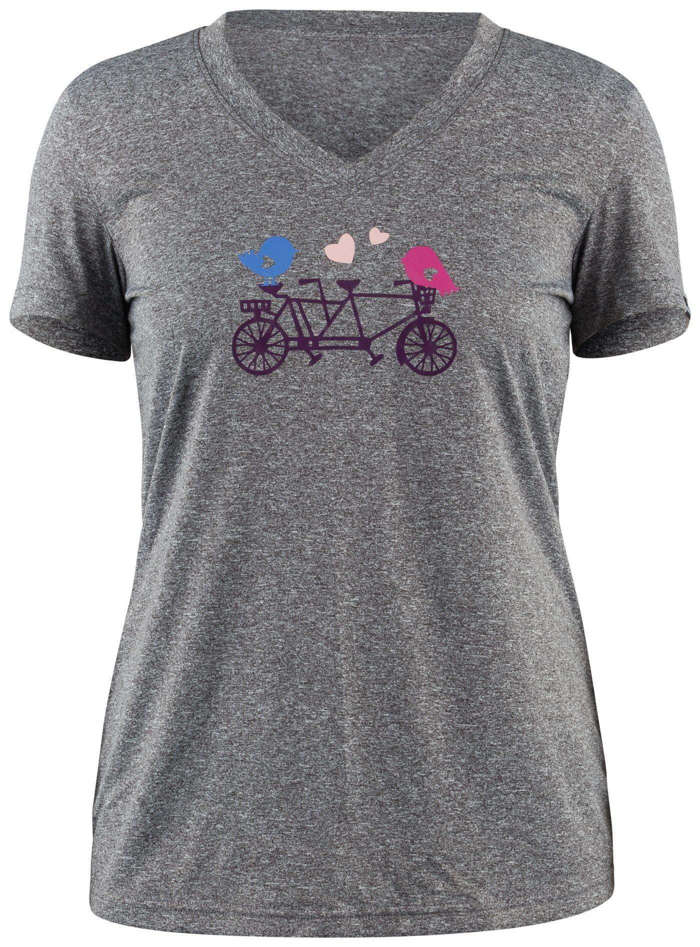 Louis Garneau Women's Birds Cycling T-Shirt