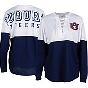 ZooZatz Women's Auburn Tigers Blue Clearblock Long Sleeve T-Shirt