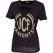 ZooZatz Women's UCF Knights Revival Ripped T-Shirt