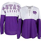 ZooZatz Women's Kansas State Wildcats Purple Clearblock Long Sleeve T-Shirt