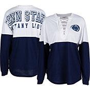 ZooZatz Women's Penn State Nittany Lions Blue Clearblock Long Sleeve T-Shirt