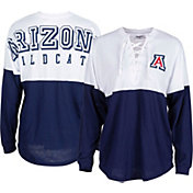 ZooZatz Women's Arizona Wildcats Navy Clearblock Long Sleeve T-Shirt