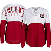 ZooZatz Women's South Carolina Gamecocks Garnet Clearblock Long Sleeve T-Shirt