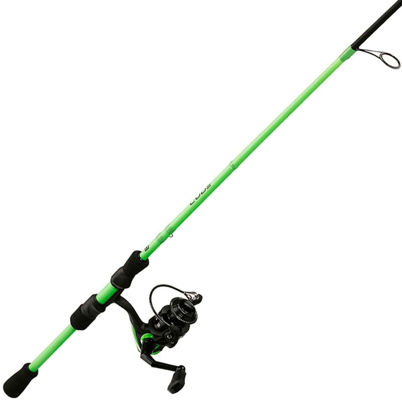 13 Fishing Code Neon Spinning Combo, Black thumbnail