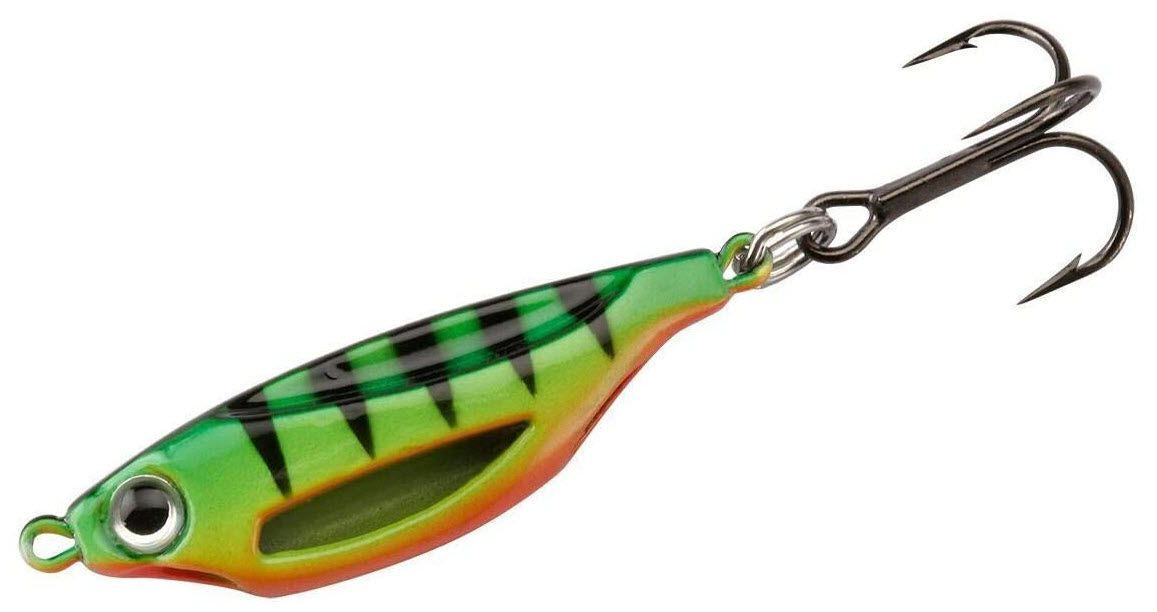 13 Fishing Flash Bang Jigging Rattle Spoon, Firetiger thumbnail