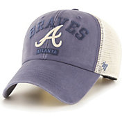 '47 Men's Atlanta Braves Navy Brayman Snap MVP Adjustable Hat