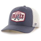 '47 Men's Atlanta Braves Navy Sumay MVP DP Adjustable Hat