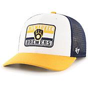 '47 Men's Milwaukee Brewers Navy Evoke MVP Adjustable Hat