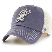 '47 Men's Milwaukee Brewers Navy Hudson Mesh Clean Up Adjustable Hat