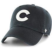 '47 Men's Chicago Cubs Black Clean Up Adjustable Hat