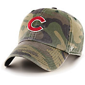 '47 Men's Chicago Cubs Camo Clean Up Adjustable Hat