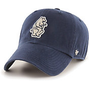 '47 Men's Chicago Cubs Navy Mclean Clean Up Adjustable Hat