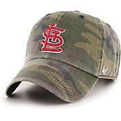 '47 Men's St. Louis Cardinals Camo Clean Up Adjustable Hat