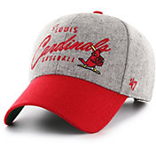 '47 Men's St. Louis Cardinals Gray Fenmore MVP Adjustable Hat