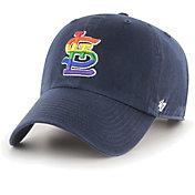 '47 Men's St. Louis Cardinals Navy Pride Clean Up Adjustable Hat
