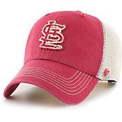 '47 Men's St. Louis Cardinals Red Hudson Mesh Clean Up Adjustable Hat