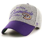 '47 Men's Arizona Diamondbacks Gray Fenmore MVP Adjustable Hat