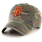'47 Men's San Francisco Giants Camo Clean Up Adjustable Hat